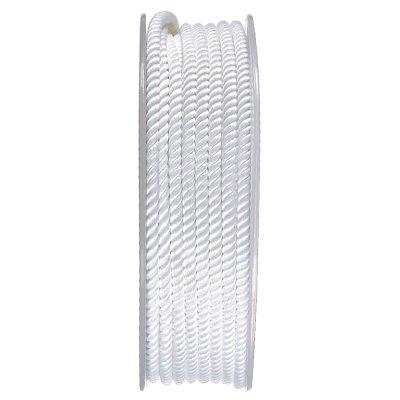 Шелковый шнур Милан 226 | 3.0 мм, Цвет: Белый 01