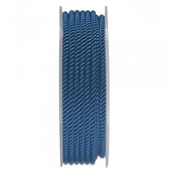 Шелковый шнур Милан 226   3.0 мм, Цвет: Синий 08