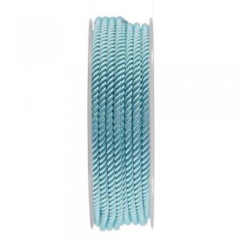 Шелковый шнур Милан 226   3.0 мм, Цвет: Мята 11