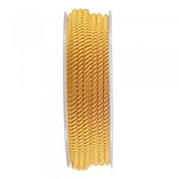 Шелковый шнур Милан 226   3.0 мм, Цвет: Желтый 13