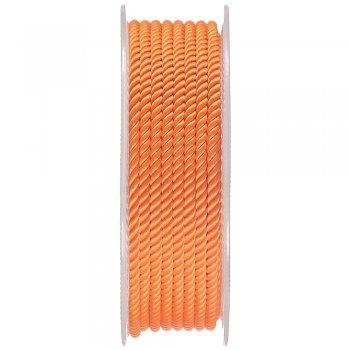 Шелковый шнур Милан 226 | 3.0 мм, Цвет: Оранжевый 14
