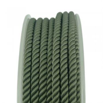 Шелковый шнур Милан 226 | 3.0 мм, Цвет: Оливковый 18