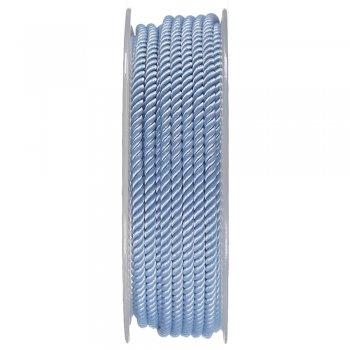 Шелковый шнур Милан 226 | 3.0 мм, Цвет: Голубой 21