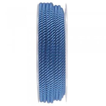 Шелковый шнур Милан 226 | 3.0 мм, Цвет: Синий 23