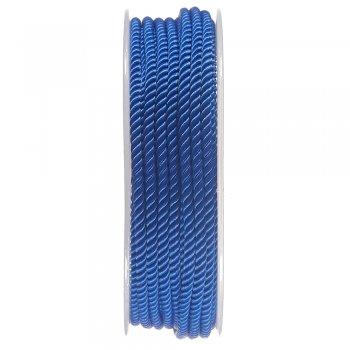 Шелковый шнур Милан 226   3.0 мм, Цвет: Синий 24
