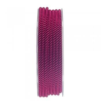 Шелковый шнур Милан 226   3.0 мм, Цвет: Малиновый 29