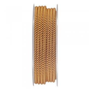 Шелковый шнур Милан 226   3.0 мм, Цвет: Горчичный 32