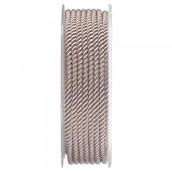 Шелковый шнур Милан 226   3.0 мм, Цвет: Бежевый 38