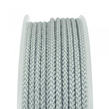 Шелковый шнур Милан 229 | 2.0 мм, Цвет: Серебро 09