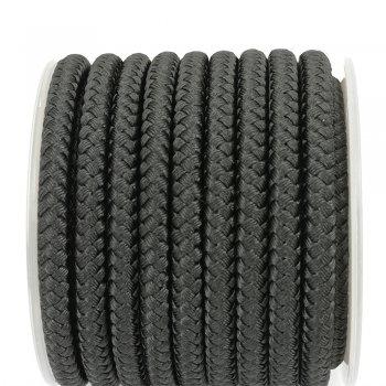 Шелковый шнур Милан 231 | 5.0 мм, Цвет: Черный 01