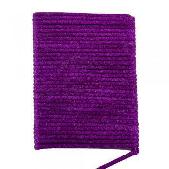 Шелковый шнур гладкий | 2.0 мм Цвет: Фиолетовый 17
