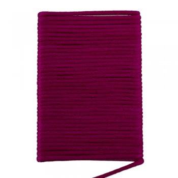 Шелковый шнур гладкий | 2.0 мм Цвет: Фуксия 109