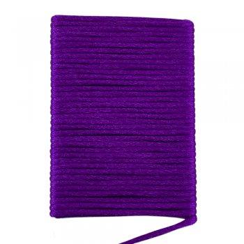 Шелковый шнур гладкий   2.0 мм Цвет: Темно-фиолетовый 125