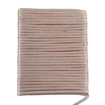 Шелковый гладкий шнур 2.0 мм Светло-Розовый 01