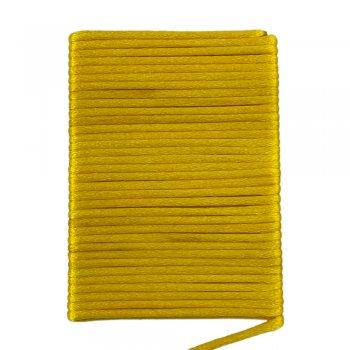 Шелковый шнур гладкий | 2.0 мм Цвет: Желтый 114