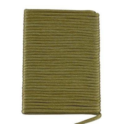 Шелковый гладкий шнур 2.0 мм Оливковый 1004