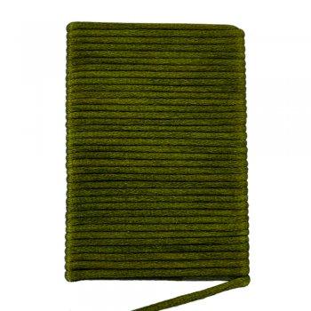 Шелковый шнур гладкий   2.0 мм Цвет: Темно-зеленый 10