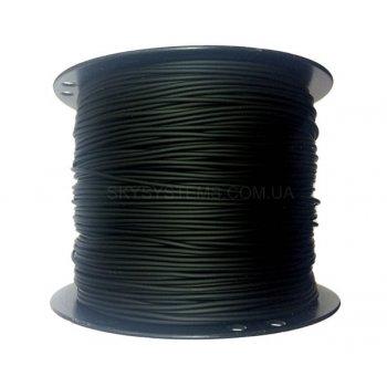 3,0 мм, Каучуковый шнур | Черный (Тайвань)