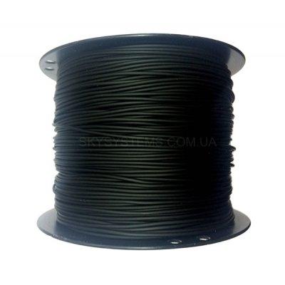 Круглый каучуковый шнур 3.0 мм Черный Тайвань