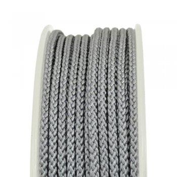 Шелковый шнур Милан 229 | 2.0 мм, Цвет: Серый 35