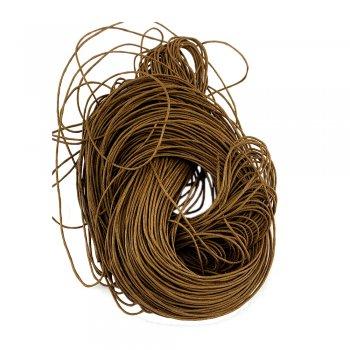 Гладкий вощеный шнур 1.0 мм, Хаки 07