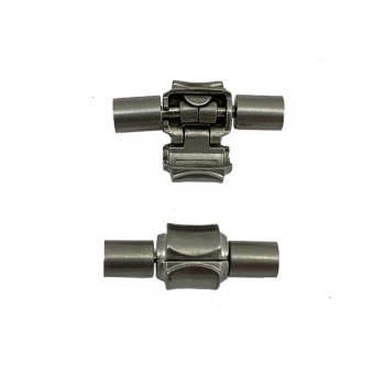 Стальной замок для браслета в стиле PANDORA 4.0 мм