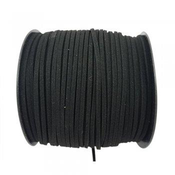 Шнур Алькантара 1.4x3.0 мм Черный 11