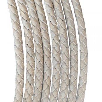 Кожаный плетеный шнур Ultra Sky 4.0/4 мм Растительного дубления