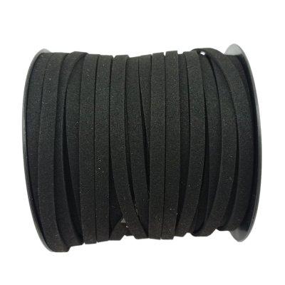 Алькантара 5.0х1.5 мм Черный 11